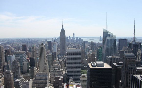 New york top of the rock