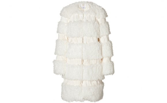 Anna sui Faux Fur Coat in