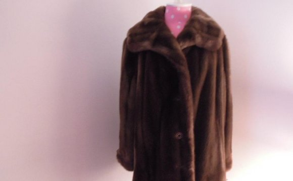 Faux Fur Coat-Tissavel Faux