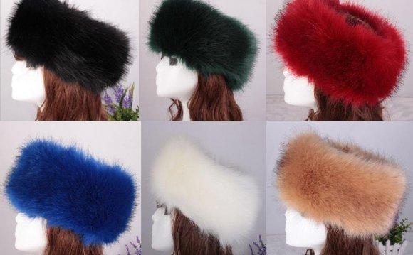 Luxury Ladies Faux Fake Fur