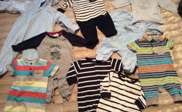 Immaculate baby boy bundle 0-3