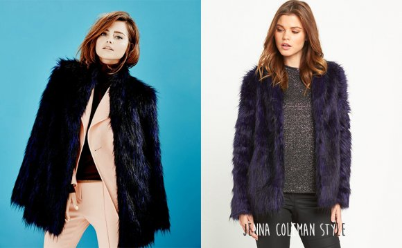 What: V by Very Faux Fur Coat