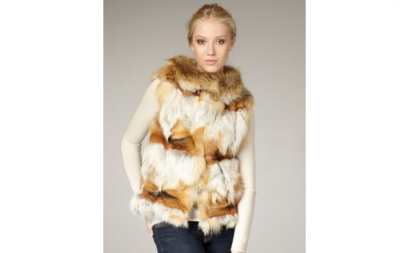 Jocelyn Roadie Red Fox Vest in