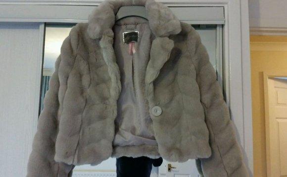 Lipsy Faux Fur Jacket /Coat