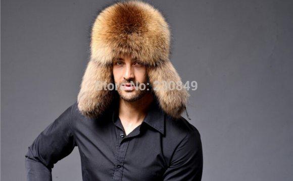 Male fox furhat ear cap lei