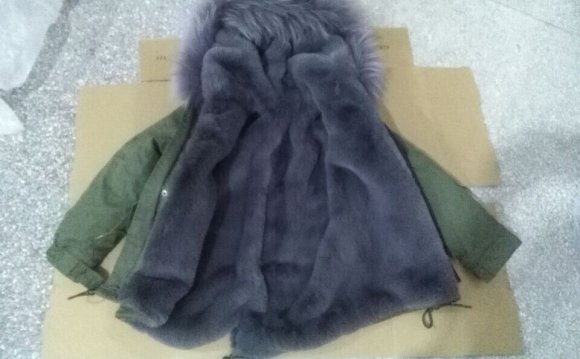2015 Winter army green fashion