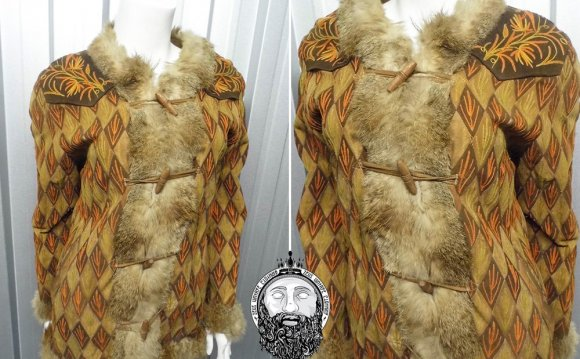 Vintage 60s 70s Afghan Coat