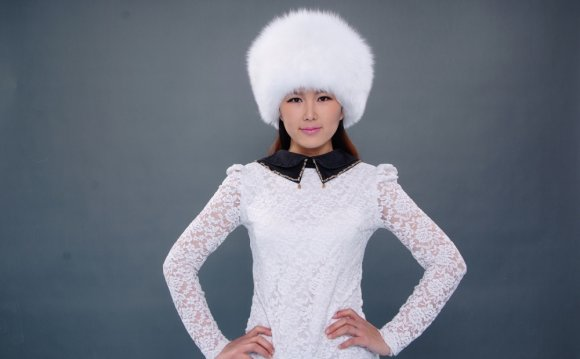 Women Real Fox Fur Hat