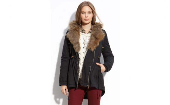 Sanctuary Faux Fur Parka in