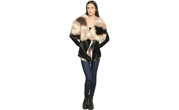 Urbancode Patchwork Faux Fur