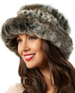 Avery Premium Faux Fur Hat in Tundra