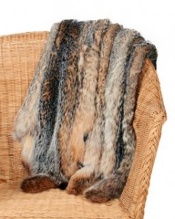 Badger Fur Pelts / Tanned Skins
