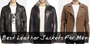 Best Leather Jackets for Men 2015 - 2016