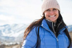 Bogner Kelly-D Down Jacket & Fire + Ice Alexia Top near Park City, Utah