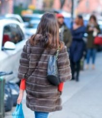 brown fur coats