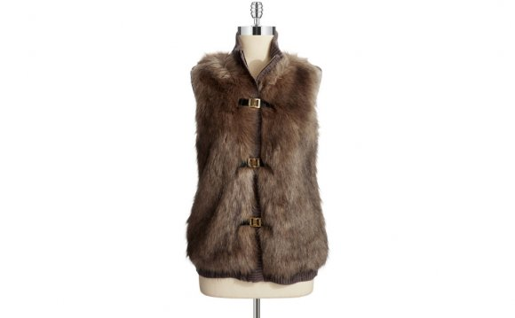 Faux Fur Vest for Cheap