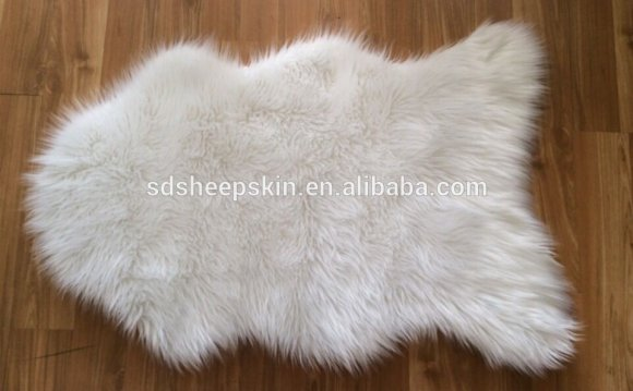 Faux Fur Rugs White