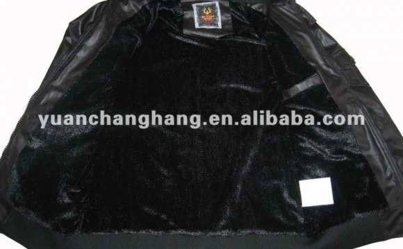 Leather Jacket Fur lining