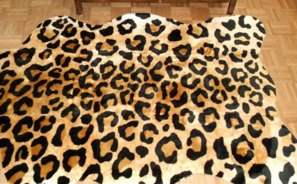Black Faux Fur Rugs