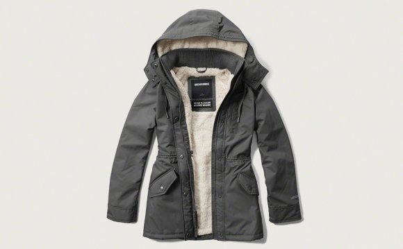 Abercrombie Fur Lined Jacket