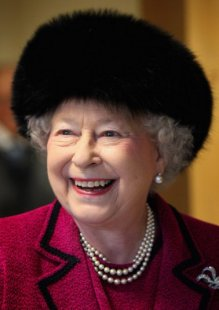 Queen Elizabeth, February 3, 2013 | The Royal Hats Blog