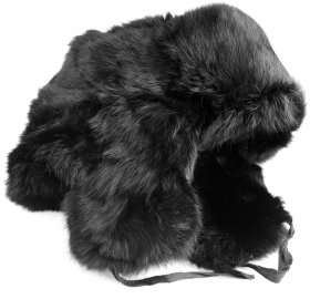 Real Rabbit fur winter hat.