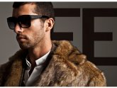 Faux Fur Coat Men