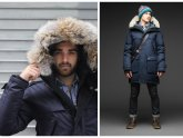 Mens Parka Jackets with Fur Hooded