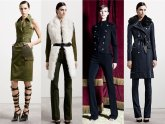 Military style Coats Women