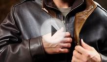 Avenger Lambskin Leather Jacket