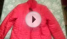Beautiful RED reversible FUR jacket