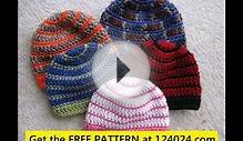 crochet beanie hat for beginners