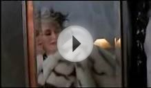 Cruella De Vil recieves a white tiger fur skin