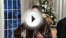 Dennis Basso Faux Sheared Mink Fur Coat with Jane Treacy