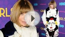 Fur too much! Anna Wintour wears unflattering portrait