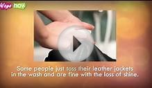 How to Clean Leather Jackets