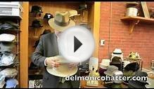 "How to Shape an ""Open Crown"" Fur Felt Hat 