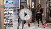 NENE by NeNe Leakes Sweater Coat with Removable Collar