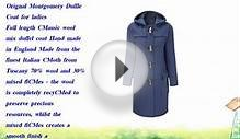 Womens Long Duffle Coats -- Royal Blue -- Size 36