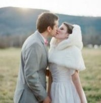 Winter Wedding Cover Ups for Brides