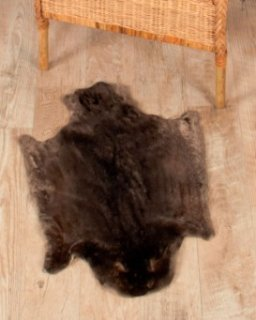 XL Sheared Beaver Fur Pelts / Tanned Skins