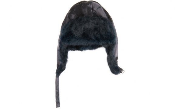 Fur-Trimmed Hat